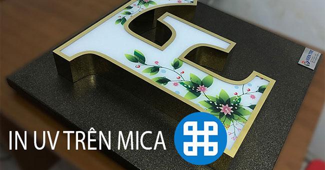 In uv trên mica – Vì sao nên chọn kỹ thuật này ?