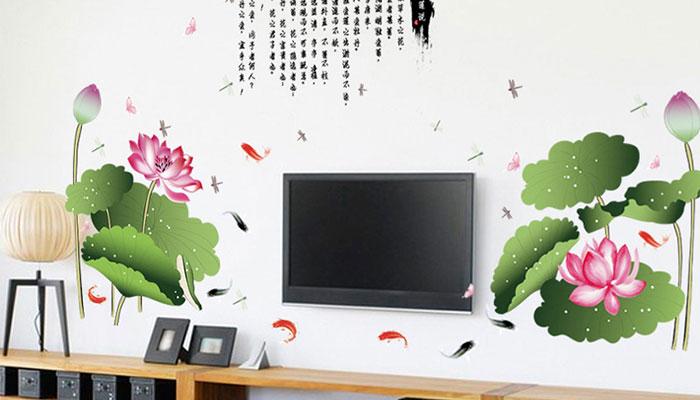 In giấy dán tường theo yêu cầu giúp nhà bạn trông nổi bật hơn