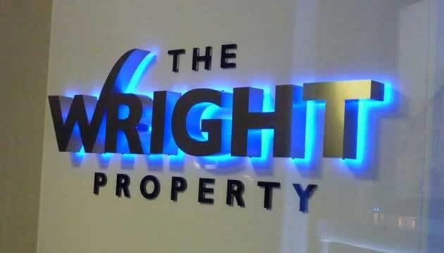 Image result for chữ nổi đèn led