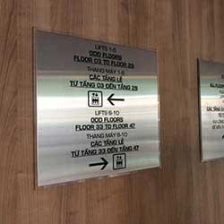 Công ty QC Sắc Kim thi công bảng hiệu công ty TPHCM
