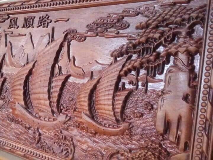 Khắc CNC trên gỗ