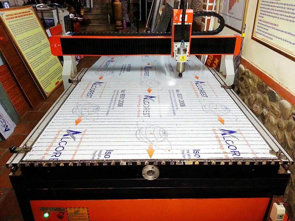 Máy cắt khắc CNC chất lượng cao dạng phẳng