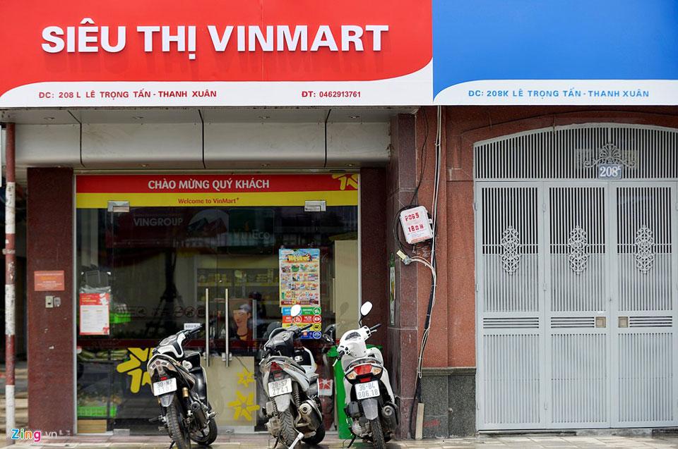 bảng hiệu siêu thị mini, cửa hàng tạp hóa - mẫu 1