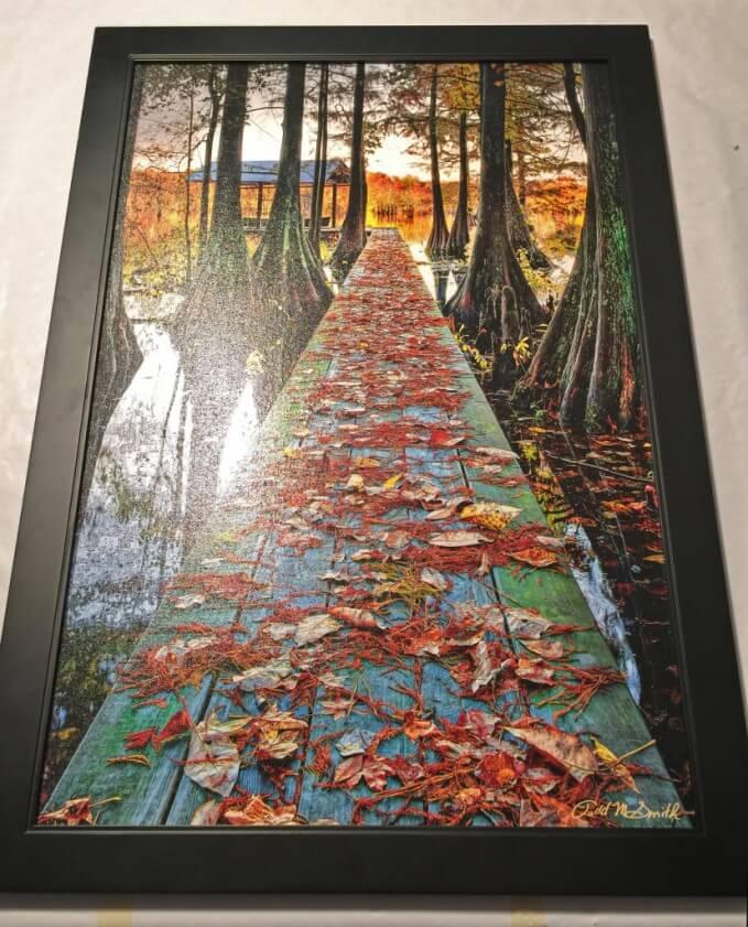 in tranh canvas có tính trang trí nghệ thuật cao