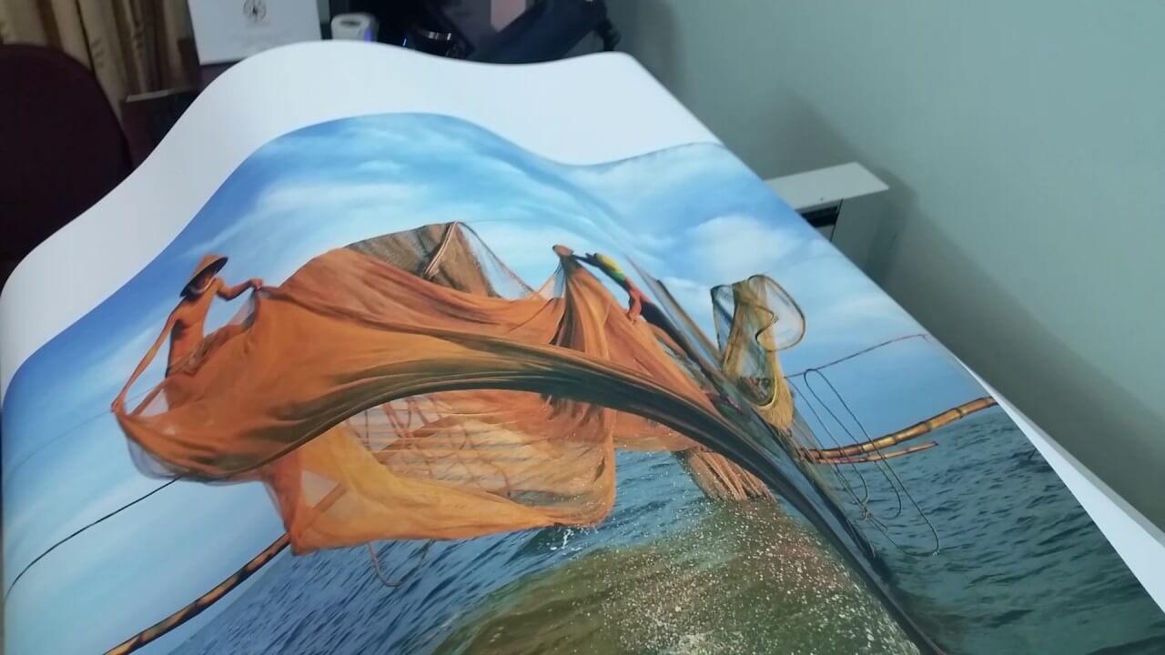 Sản phẩm in tranh canvas