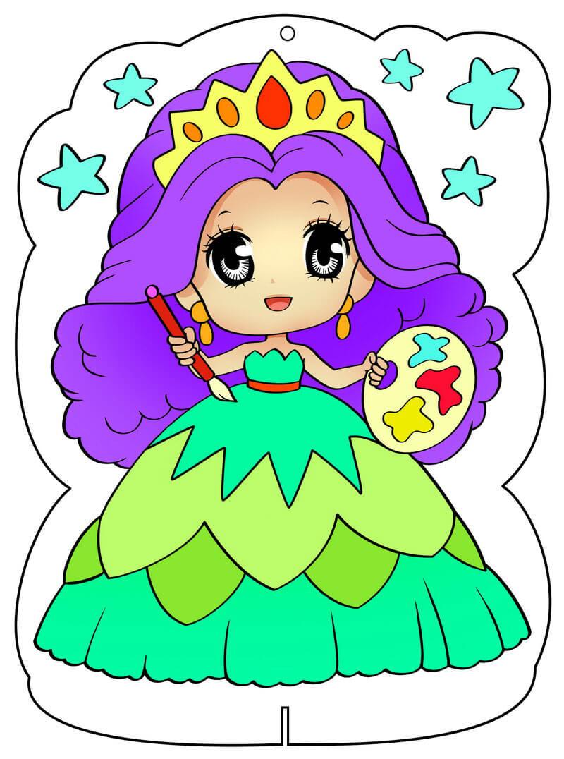 Công chúa tô màu lung linh
