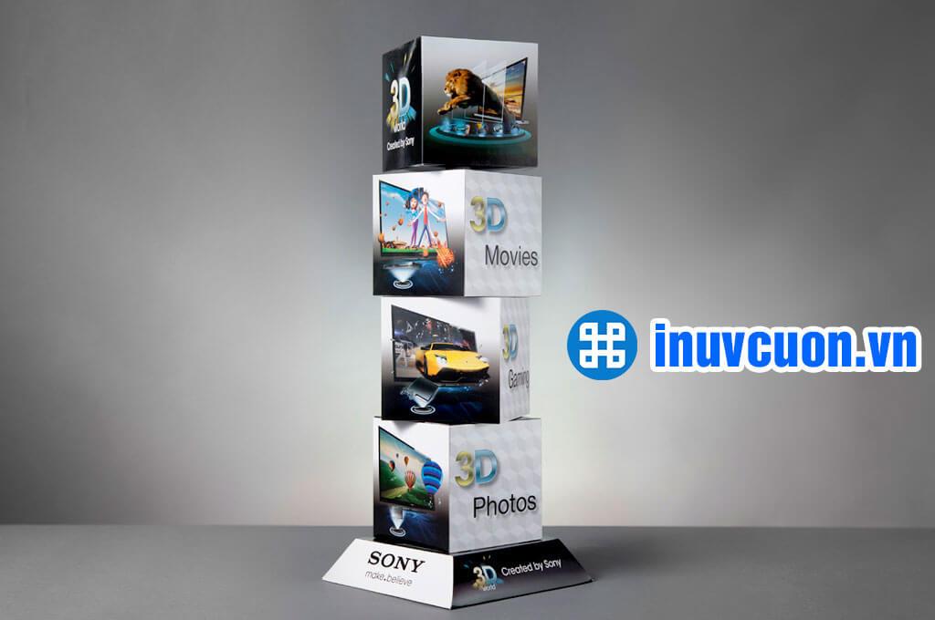 Mẫu quảng cáo mô hình 3D