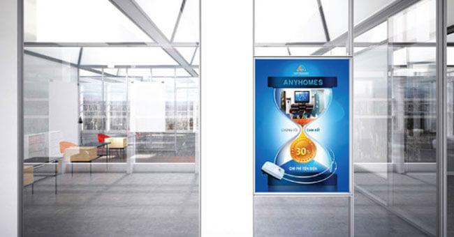 Chất liệu in poster quảng cáo khổ lớn trang trí TPHCM