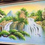 tranh sơn dầu hiện đại