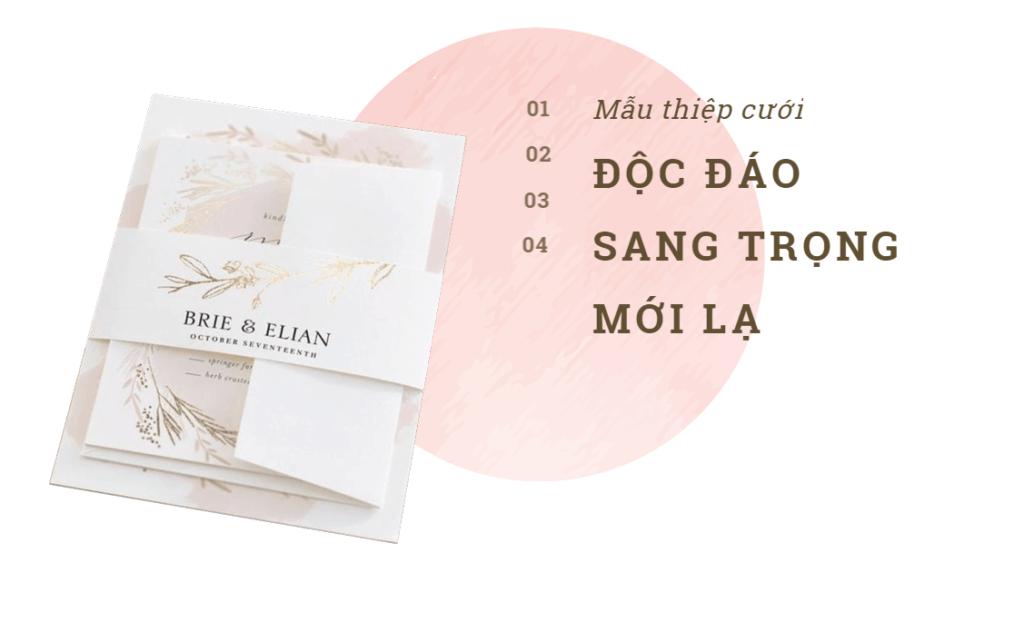 TOP 3 đơn vị in thiệp cưới giá rẻ mà đẹp tại Việt Nam