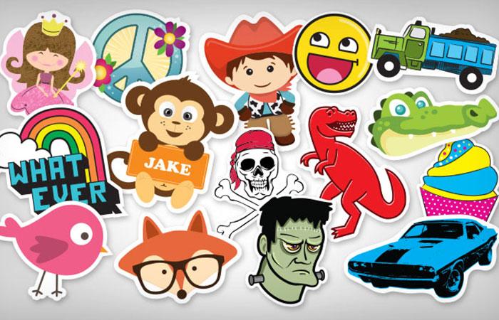 Giấy làm sticker ngày càng thông dụng trong cuộc sống hiện nay