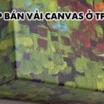 shop bán vải canvas ở tphcm