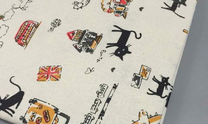 Vải canvas cotton thường dùng làm gối hoặc bao bọc nệm