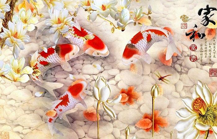 Cá chép thường mang biểu tượng cho sự kiên trì, bền bỉ