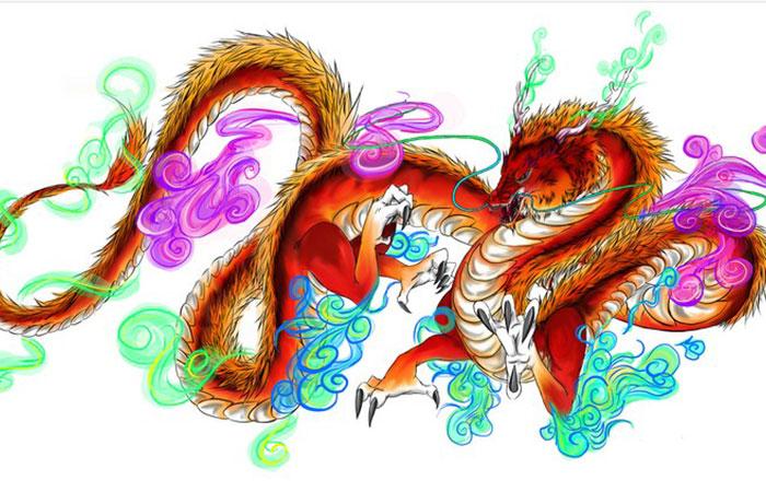 Rồng mang đến sức mạnh kiên cường cho gia chủ