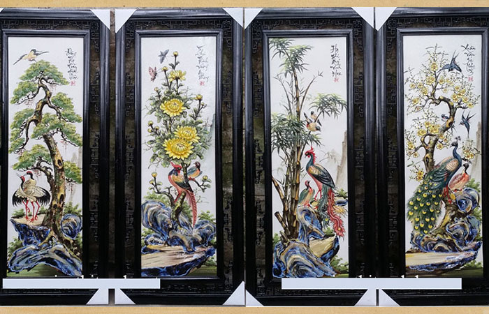 Tuổi Nhâm Tý rất phù hợp với bức tranh Tùng, Cúc, Trúc, Mai