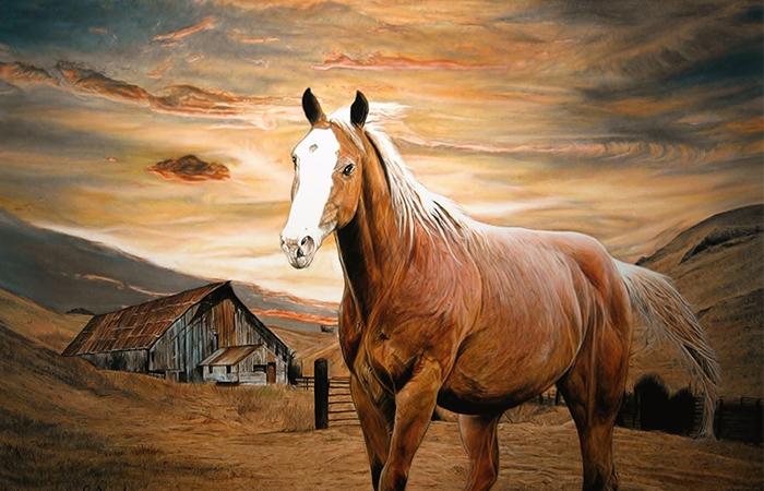 Tuổi Ngựa thích hợp treo tranh gì trong phong thủy